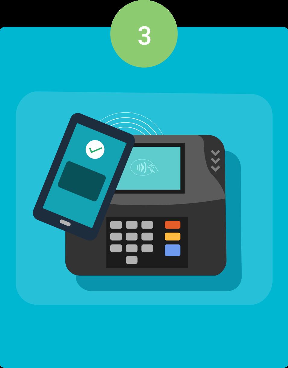 Krok 3. Jak płacić w sklepie za pomocą Android Pay?
